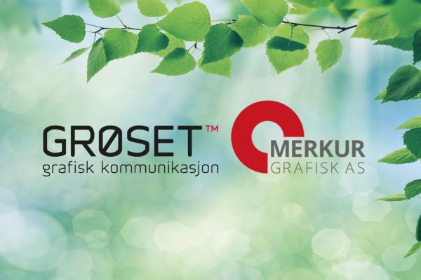 Logo, Merkur Grafisk og Grøset Trykk