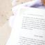 Bok på stranden